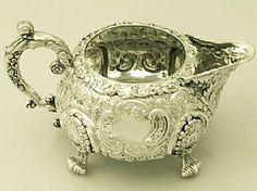 Sterling Silver Cream Jug - Antique George IV