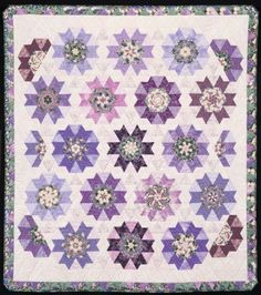 My Violet Garden. Quilt from Doubledipity: More Serendipity Quilts by Sara Nephew