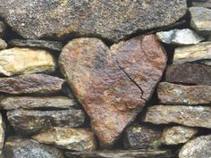 A heart of stone, Saint Clement's Church, Isle of Harris in Scotland. Nx