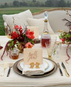 Feast Your Eyes On This Tablescape