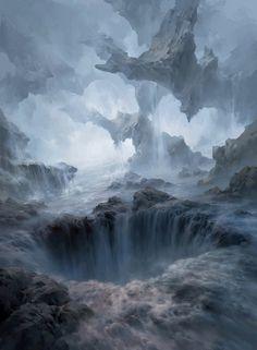 Magic the Gathering: Basic Lands, Tianhua Xu on ArtStation at https://www.artstation.com/artwork/magic-the-gathering-basic-lands