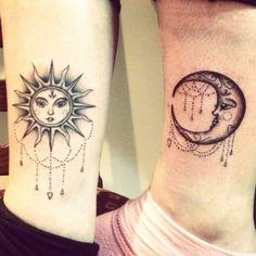 35 Fotos de Tatuagens de Sol + Significados!