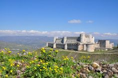 Mary Ann Bernal: Crusader Castles - Crac des Chevaliers and Qal'at ...
