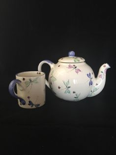 A personal favorite from my Etsy shop https://www.etsy.com/ca/listing/245787987/teapot-and-mug-matching-set-ceramic-tea