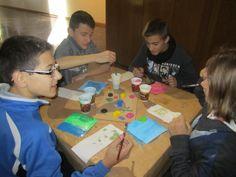 Alumnes visiten La Ratjoleria per participar en un Taller