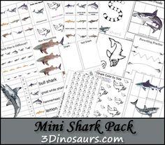 Free Shark Printable Pack - Money Saving Mom®