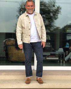 Mature Mens Fashion, Italian Street, Men's Fashion, Menswear, Street Style, Black And White, Future, Fitness, Casual
