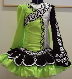 Irish dance solo costume- that my daughter really likes!