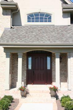 Brick Exteriors Front door