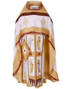 Russian-Style Priest Vestment. $830.00. #CatalogOfGoodDeeds #vestments #deacons #OrthodoxVestments #ordervestments #buyvestments #subdeacon #orarion #cuffs #sticharion #protodeacon #archdeacon #mitre #klobuk #skufia #cassocks #bishop #archbishop #metropolitan #sewingworkshop #cassocks #priest #bookmarks #liturgicalset #churchvestment
