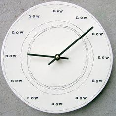 The time is now...
