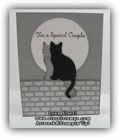 Cat Punch Wedding Card http://www.starzlstamps.com/2017/09/stampinup-cat-punch-special-celebrations-stamp-set-wedding-card.html