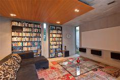 media/library room