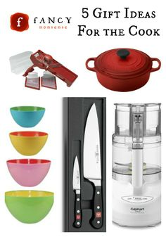 5 Gift Ideas For The Cook