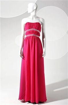 Sleeveless Strapless A-line Reds Floor-length #Prom #Dress Style Code: 06645 $109