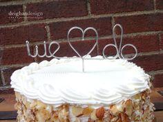 GET A FREE Custom Cake Topper Wedding Cake by DeighanDesign