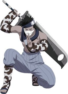 zabuza - I'm pretty sure he was my first favorite character ever...Naruto was my very first anime a long time ago!
