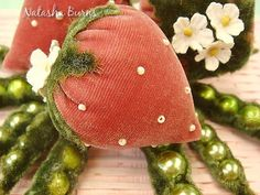 velvet strawberry