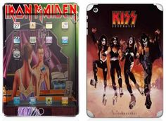 Iron Maiden y Kiss para iPad