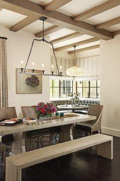 Los Angeles Residence Breakfast Nook http://www.landrydesigngroup.com/#/portfolio/classic/2218