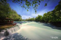 "/ Photo ""Manavgat Waterfall"" by Necat ÇETİN Beautiful Places To Travel, Amazing Places, Istanbul Turkey, Niagara Falls, Illusions, The Good Place, Villa, Explore, World"