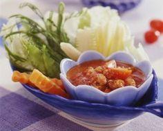 สูตรการทำน้ำพริกมะเขือสับ   รวบรวมสูตรอาหาร และขั้นตอนการทำอาหาร