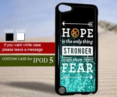 hunger games quote - ipod 5 Case | TheYudiCase - Accessories on ArtFire