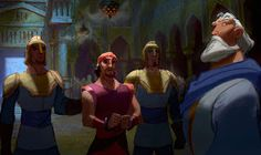 Color key from Sinbad. Dreamworks