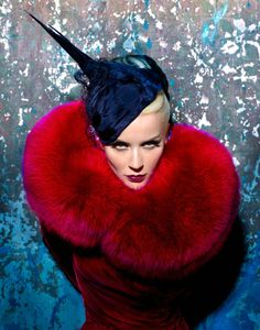 Daphne Guinness for Muse Magazine, she is quite the Siren in this Glam Look!
