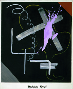 Modern Art (Moderne Kunst)   Sigmar Polke, Modern Art (Moderne Kunst) (1968)