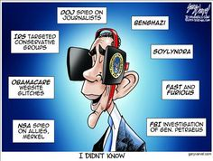 #obama - the know nothing in chief - Political Cartoons by Gary Varvel