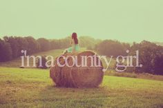 I am born and raised in the country on 10 acres and love it.