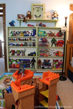 The Best Way to Organize Toys