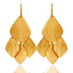 Handmade-Fashion-Brass-Designer-Earrings-18k-Gold-Plated-Christmas-Gift-Jewelry  #jewelry #fashionjewelry #Jewelrylover #fashionista #gemstonejewelry