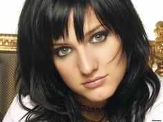 looking for russian girls Ashlee Simpson, Choppy Bangs, Light Eyes, Celebrity Wallpapers, Gorgeous Hair, Celebrity Pictures, Dark Hair, Your Hair, Beautiful People