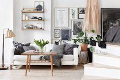 Apartamento de Estocolmo |  estilismo de Josefin Haag