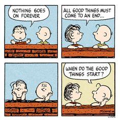 When do good things start?