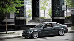 BMW M3 e46. Absolutely one of the best color combos IMO. Oxford Green and Cinnamon