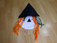 DIY Hallowen: DIY Ten Timid Ghosts and A Witch Craft