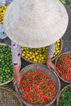 Mooi plaatje! Markt Hoi An. Kijk voor meer reisinspiratie op www.nativetravel.nl