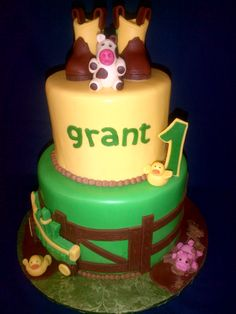 John Deere Baby cake