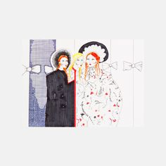 Meadham Kirchhoff S/S 14 - SHOWstudio #fashion #illustration