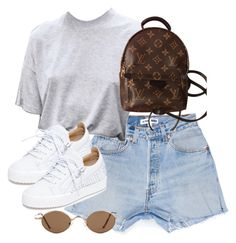 """Untitled #5201"" by theeuropeancloset on Polyvore featuring Giuseppe Zanotti and Louis Vuitton"