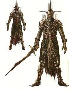 Aurous Set, Dark Souls II Design Works