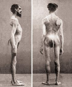 the man with a tail. I always wished humans had evolves with a prehensile tail - how awesome would that be!!?