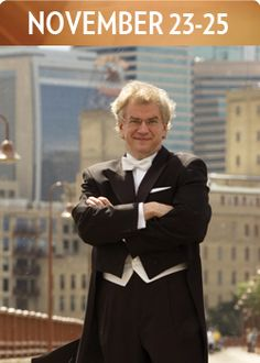 """Osmo Vänskä, Music Director of the Minnesota Orchestra, joins the Kansas City Symphony for Beethoven's """"Pastoral"""" on November 23-25, 2012"""
