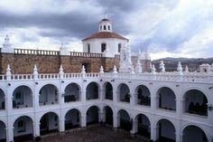 Sucre é uma das mais aprazíveis cidades da Bolívia