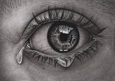 Charcoal Drawing Realistic 'Eye' Graphite and Charcoal drawing by Pen-Tacular-Artist on DeviantArt - Art Drawings Sketches Simple, Pencil Art Drawings, Easy Drawings, Charcoal Drawings, Contour Drawings, Drawing Faces, Eye Drawing Tutorials, Drawing Techniques, Drawing Tips