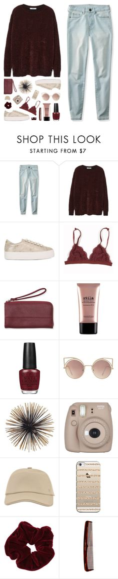 """//The taste of her cherry chapstick//"" by the-key-to-my-heart ❤ liked on Polyvore featuring Aéropostale, MANGO, No Name, Stila, Fujifilm, Hermès, Casetify, Miss Selfridge and Mason Pearson"