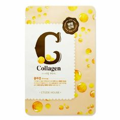 Amazing Korean beauty trick! Etude House Essence Collagen Sheet Mask: Beauty